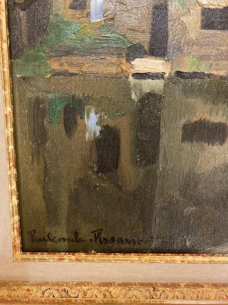 20th Century Paul Emile Pissarro, LA LAVANDIÈRE, 1928 For Sale