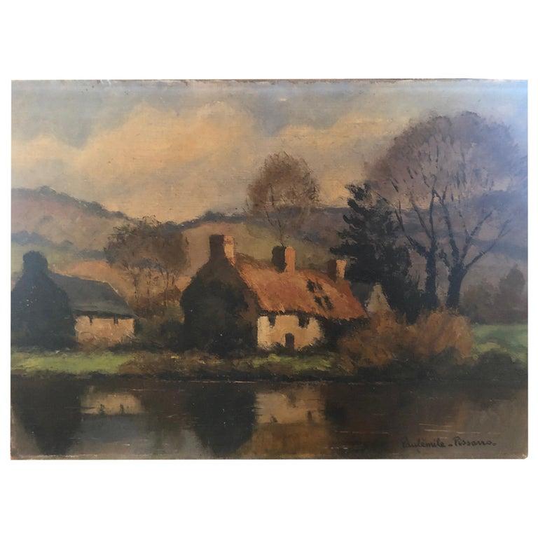 """Paul Émile Pissarro """"L'Orne près de Clécy"""" For Sale"""
