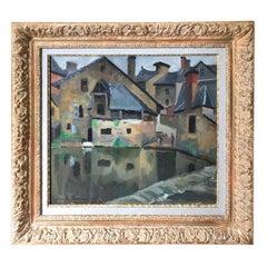 Paul Emile Pissarro, LA LAVANDIÈRE, 1928