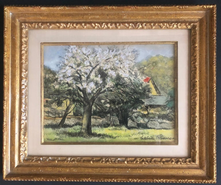 Landscape With Blooming Trees For Sale 1
