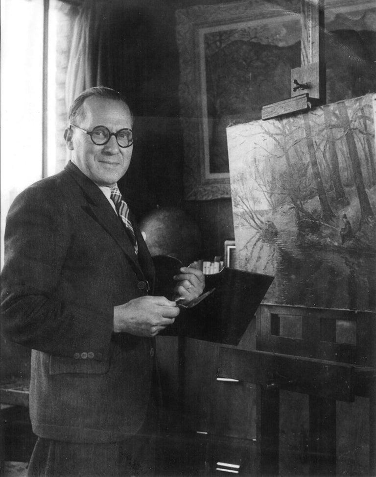 Bord de l'Orne by Paulémile Pissarro - Post Impressionist landscape/waterscape For Sale 3