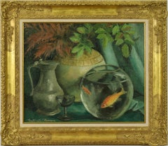 Nature Morte by Paulémile Pissarro - Still life, oil on canvas