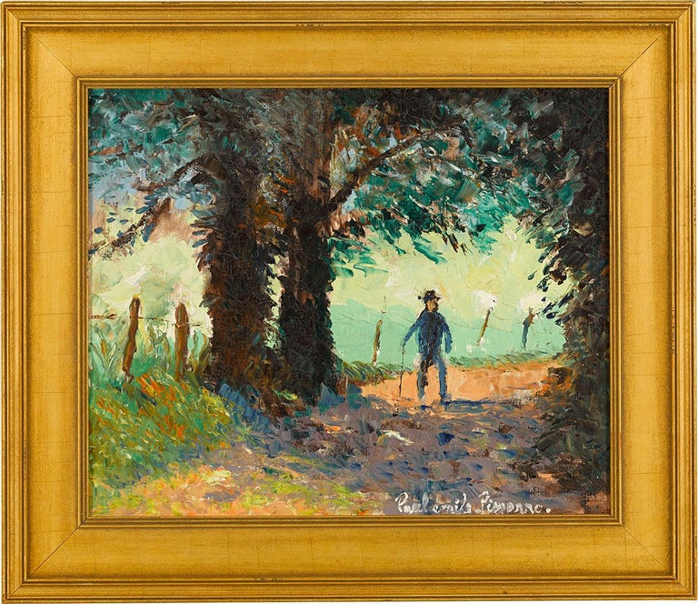 Ombre et Soleil (Shadow and Sun) - Painting by Paul Emile Pissarro