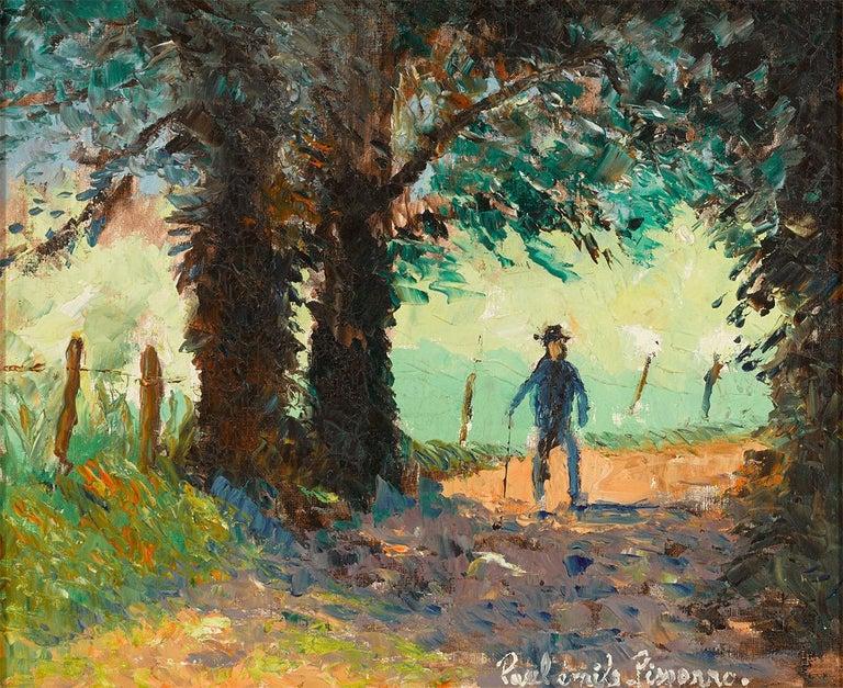 Paul Emile Pissarro Figurative Painting - Ombre et Soleil (Shadow and Sun)