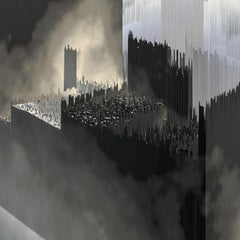 City Landcuts - Vision of a Urban Territory - Abstract Cityscapes