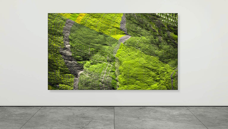 Archival photo print under acrylic glass.  Artist and photographer Paul-Émile Rioux lives in Montréal, Canada.  His lifelong interest in cutting-edge media technology as well as his expertise in photography cast him as pioneer in digital art and
