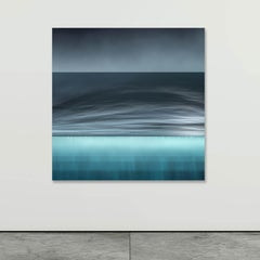 Vision of an Underwater World in Nuances of Grey & Blue  - Abstract Seascapes