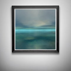 Renaissance, Abstract Print, Seascape (Turquoise) _12 /Ed. 200 (unframed)