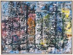 'Large Abstract', Paris, Carnegie Institute, Art Students League, Zadkine Studio