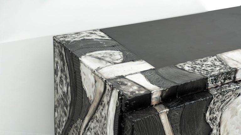 Paul Evans Argente Console 'PE-41', USA For Sale 2