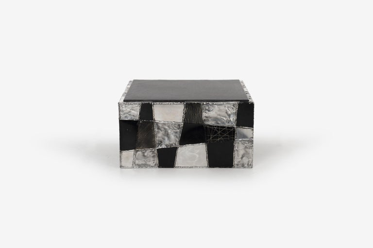 Paul Evans Argente Cube Coffee Table, Evans Studio for Directional For Sale 2