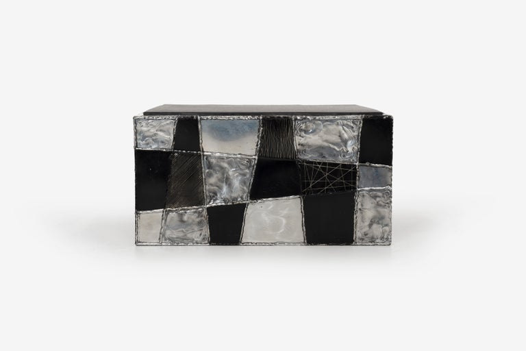 Paul Evans Argente Cube Coffee Table, Evans Studio for Directional For Sale 3