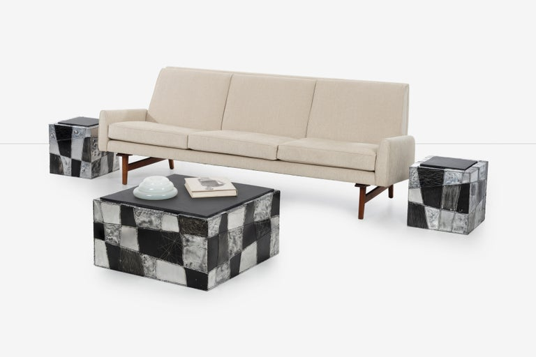 Paul Evans Argente Cube Coffee Table, Evans Studio for Directional For Sale 6
