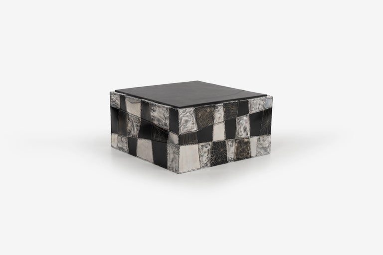 Paul Evans Argente Cube Coffee Table, Evans Studio for Directional For Sale 1