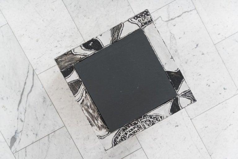 Paul Evans, Argente Cube Table 'PE-37', USA For Sale 1