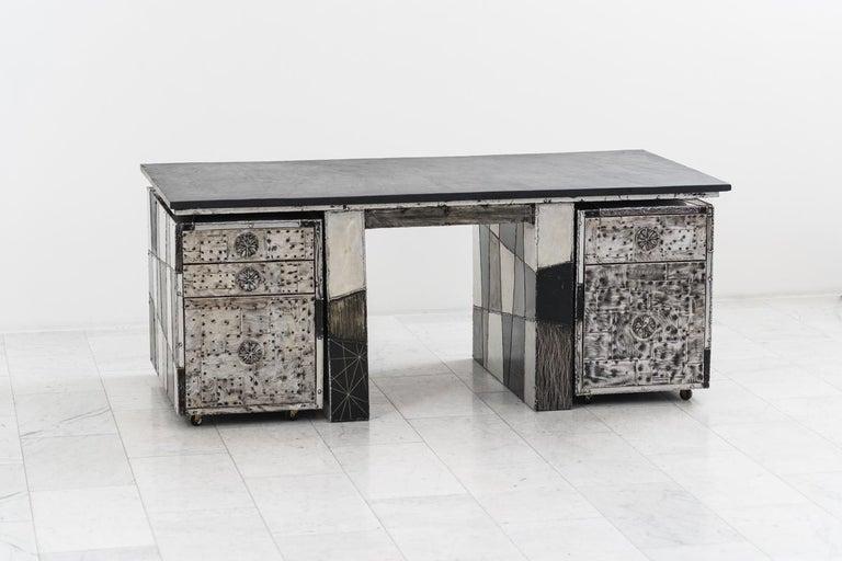 Paul Evans, Argente Desk, USA For Sale 4