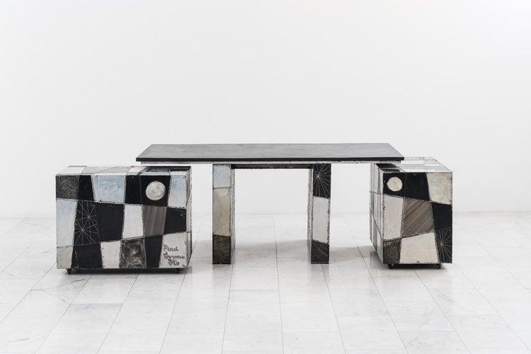 Paul Evans, Argente Desk, USA For Sale 8
