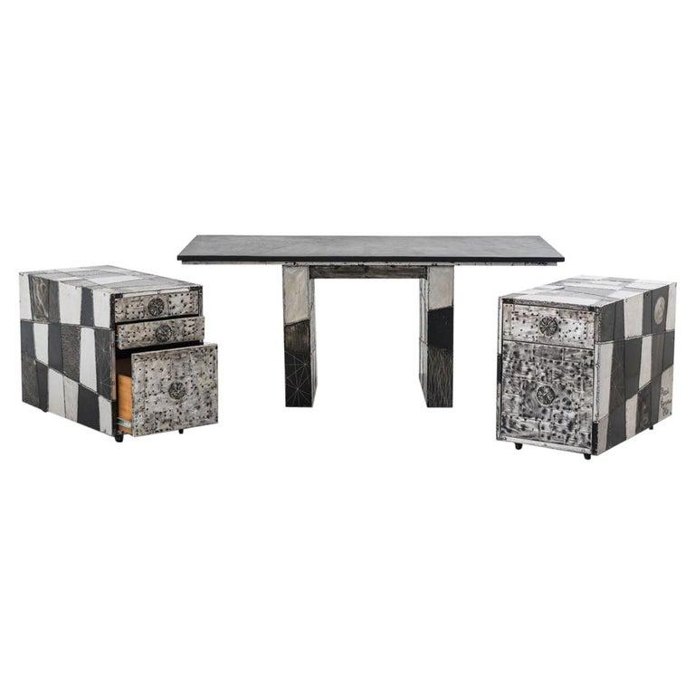Paul Evans, Argente Desk, USA For Sale