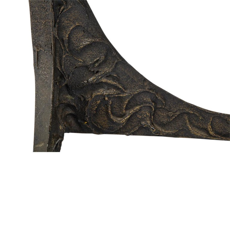Paul Evans Benches, Sculpted Bronze, Signed For Sale 6