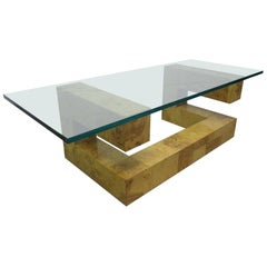Paul Evans Burl Wood Coffee Table