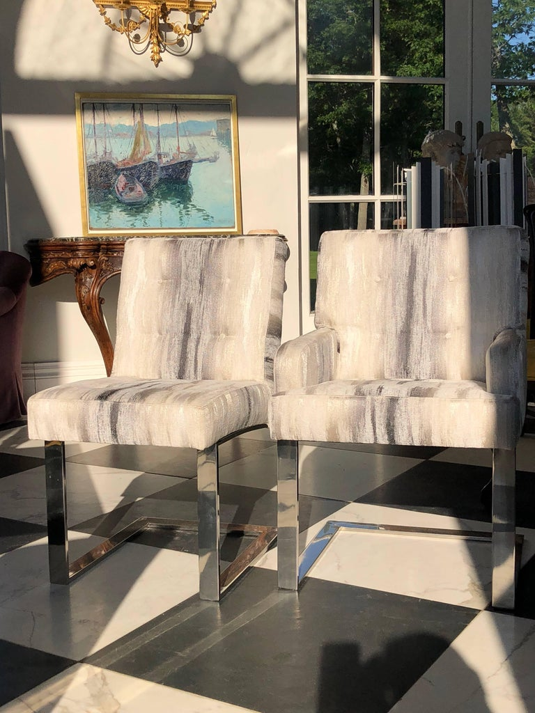 American Paul Evans Cantilevered Chairs For Sale
