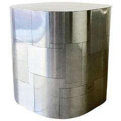 Paul Evans Chrome Cityscape Pedestal Table Base, 1970s