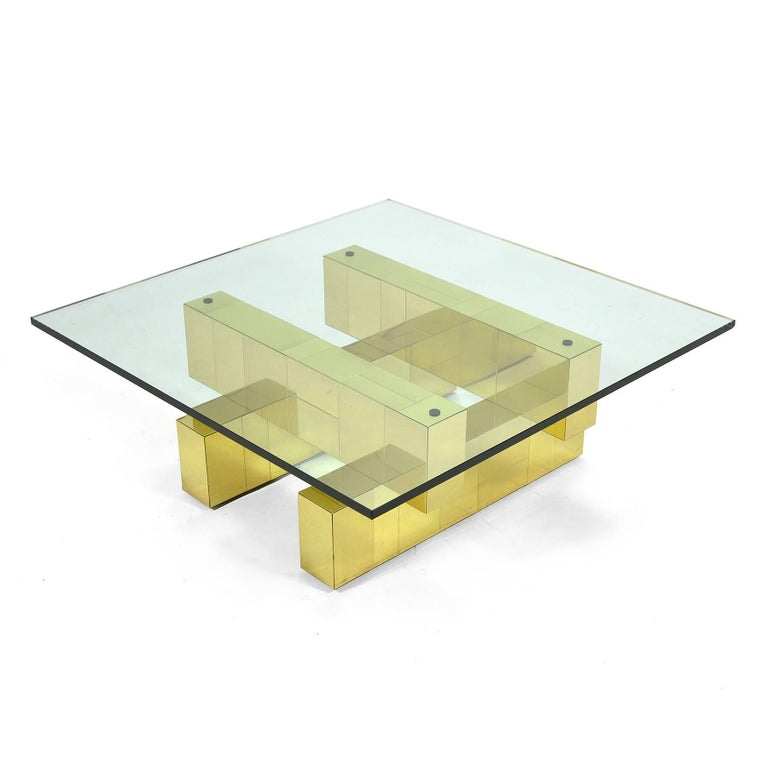 American Paul Evans Cityscape Coffee Table by Directional For Sale