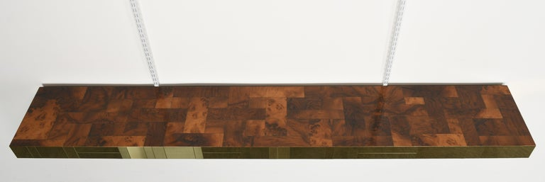 Paul Evans Cityscape Console Table for Directional, USA, 1980s For Sale 1