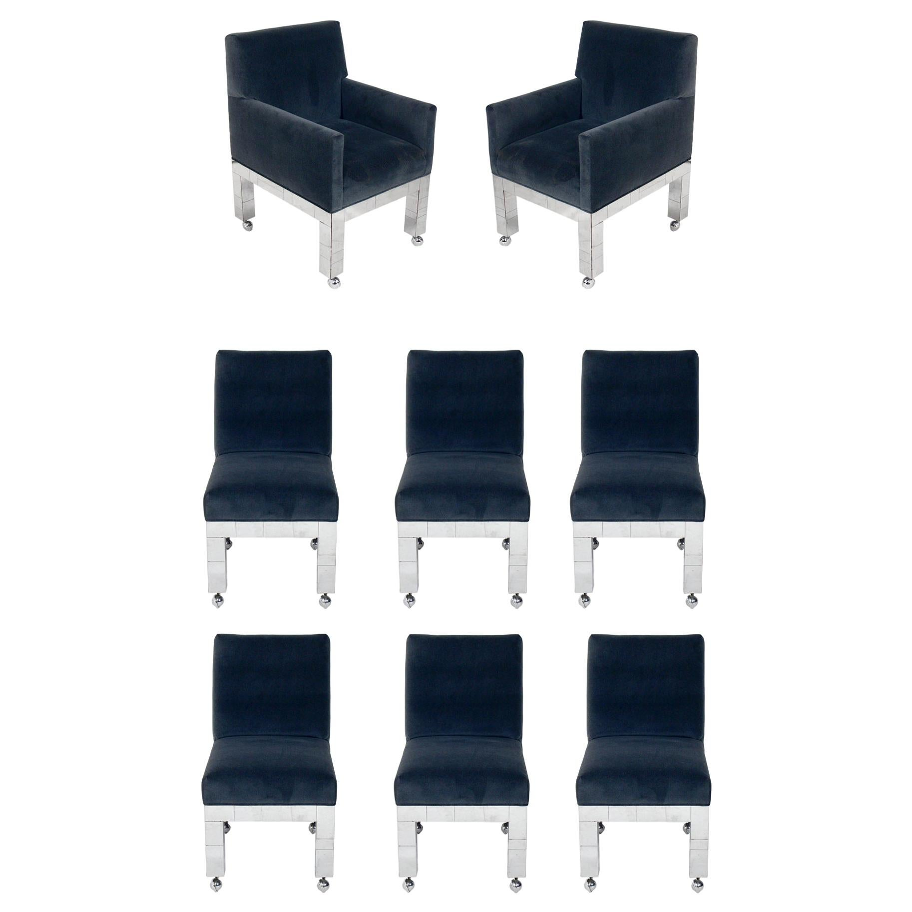 Paul Evans Cityscape Dining Chairs