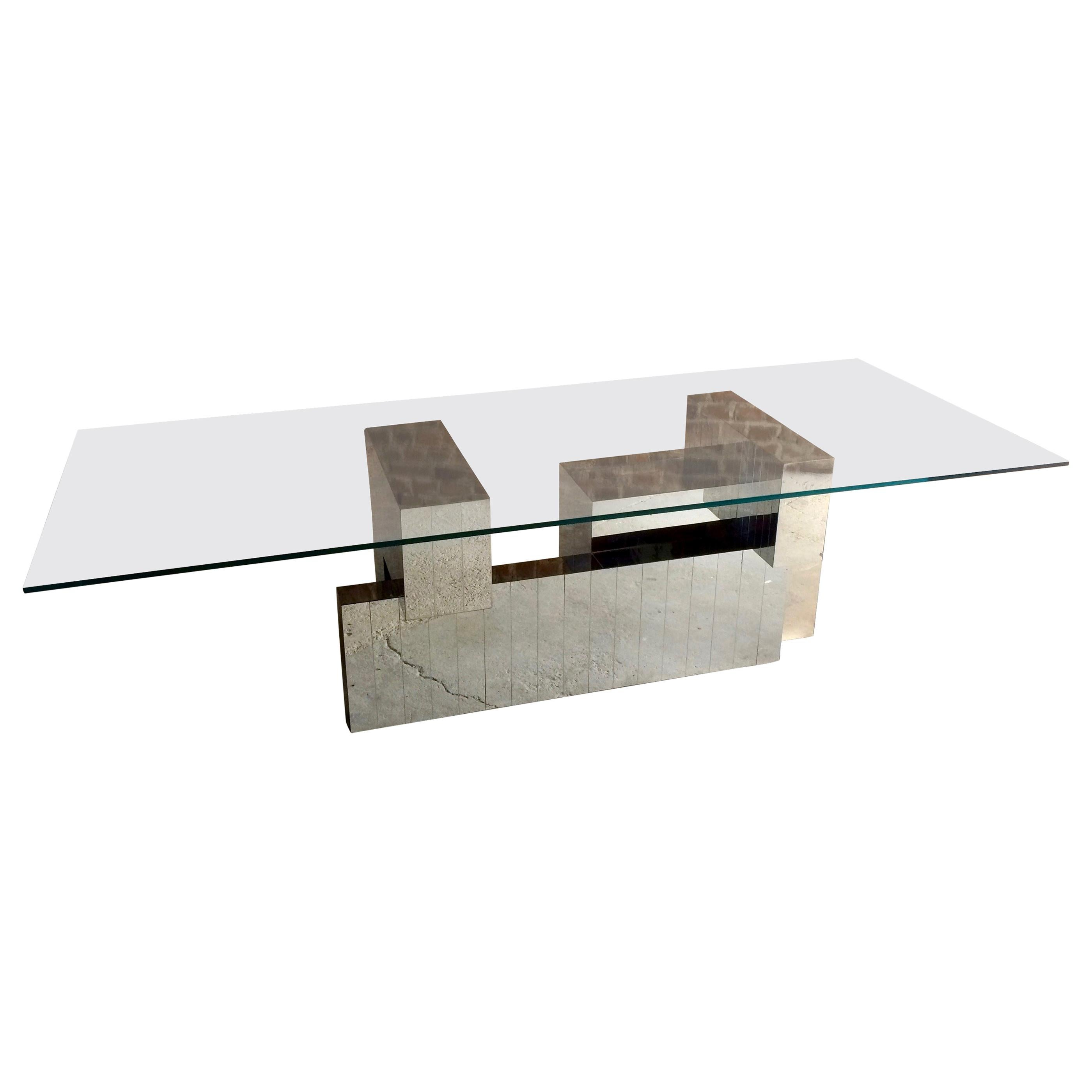 Paul Evans Cityscape Dining Table, 1970s, Model-PE631, Midcentury