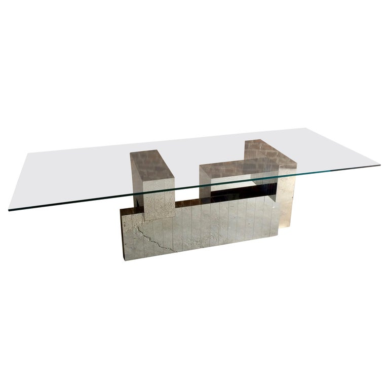 Paul Evans Cityscape Dining Table, 1970s, Model-PE631, Midcentury For Sale