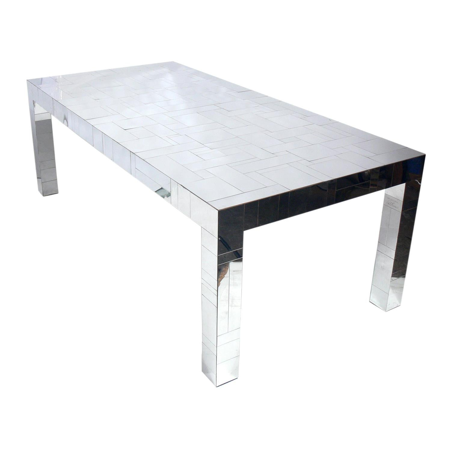 Paul Evans Cityscape Dining Table