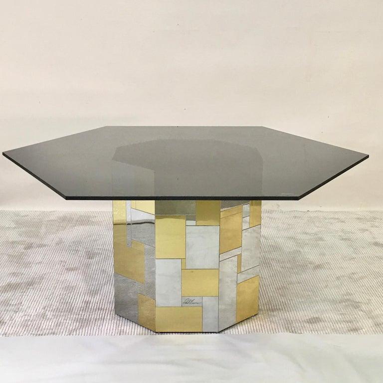 Paul Evans Cityscape Hex-Octagonal Breakfast Table For Sale 10