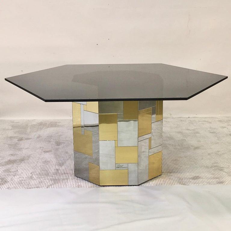 Paul Evans Cityscape Hex-Octagonal Breakfast Table For Sale 11