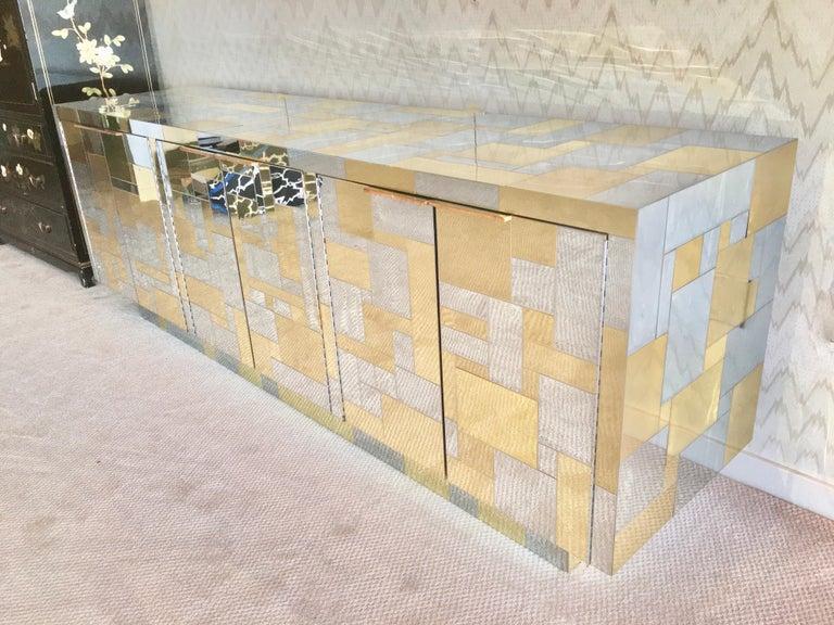 Paul Evans Cityscape Six Door Credenza For Sale 2