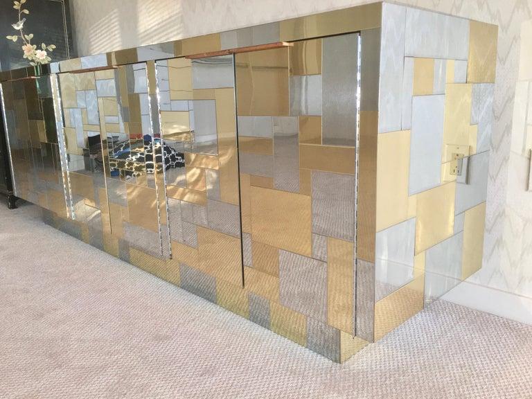 Paul Evans Cityscape Six Door Credenza For Sale 7