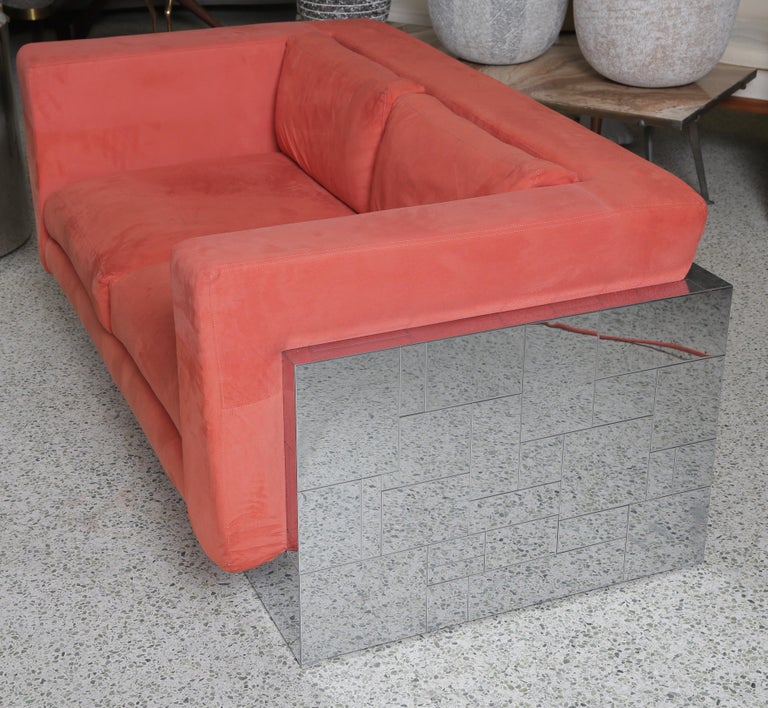 Late 20th Century Paul Evans Cityscape Sofa/Settee For Sale