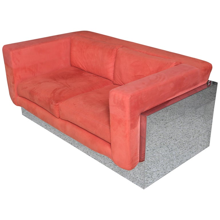 Paul Evans Cityscape Sofa/Settee For Sale