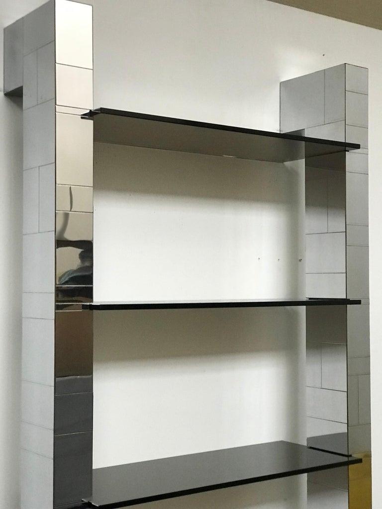 Paul Evans Cityscape Wall Shelves Display Etagere Bookshelf for Directional For Sale 3