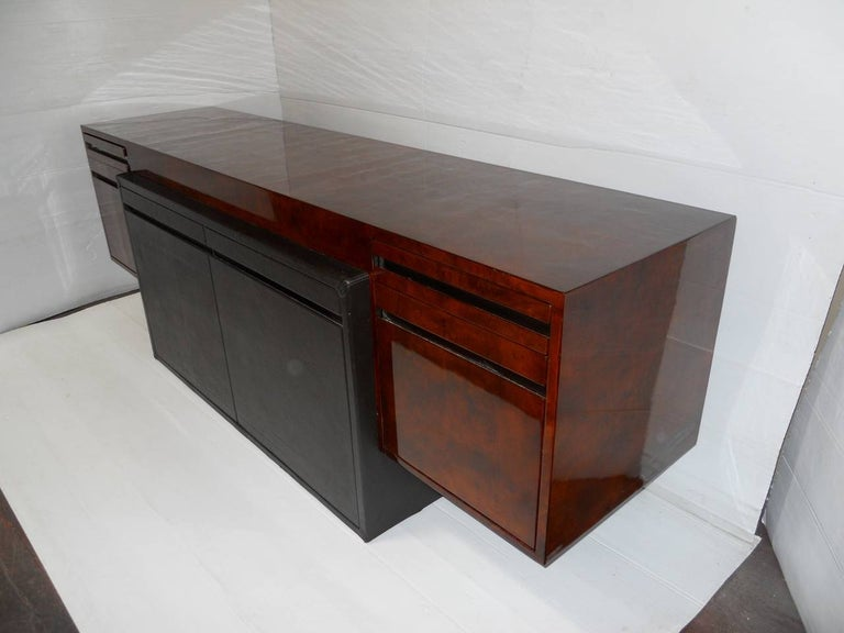 American Paul Evans Credenza for Directional For Sale