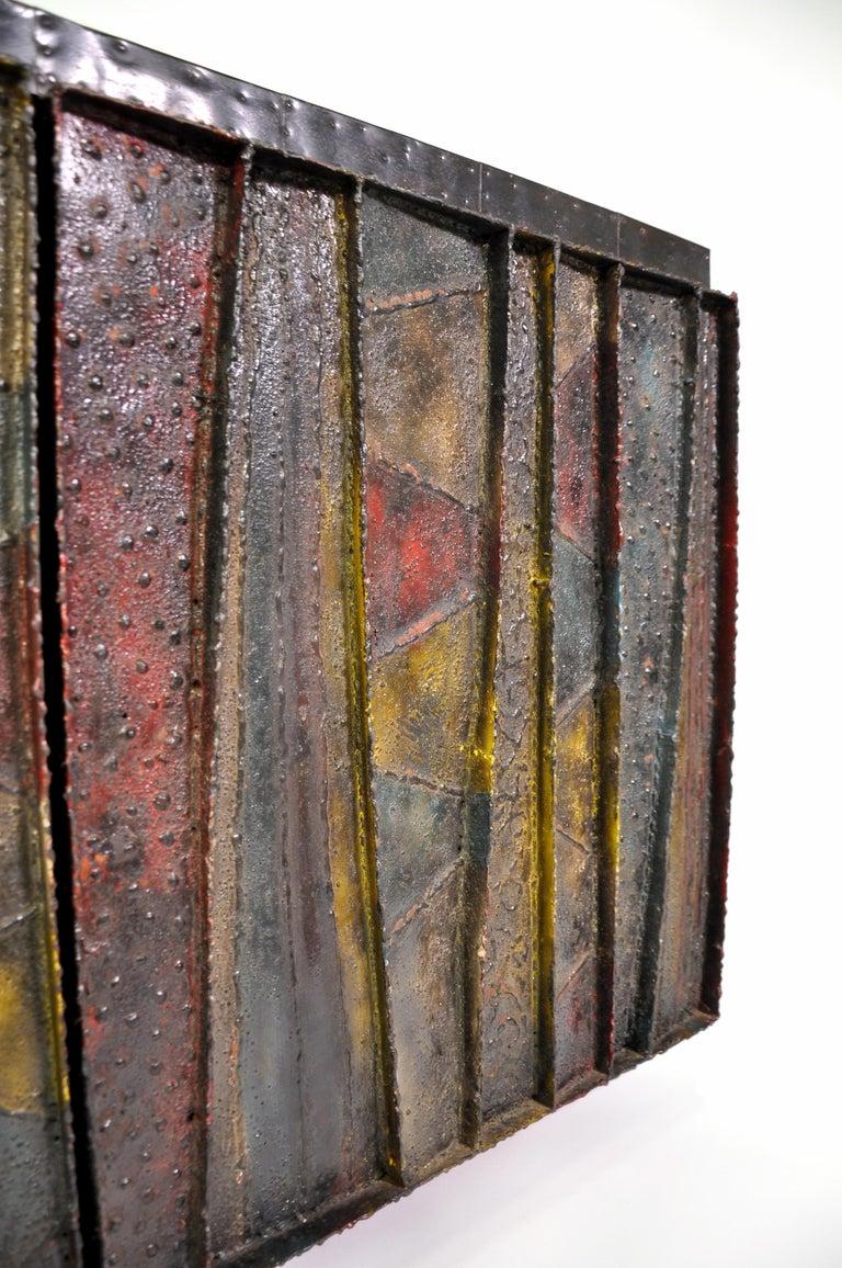 Paul Evans Deep Relief Cabinet For Sale 7