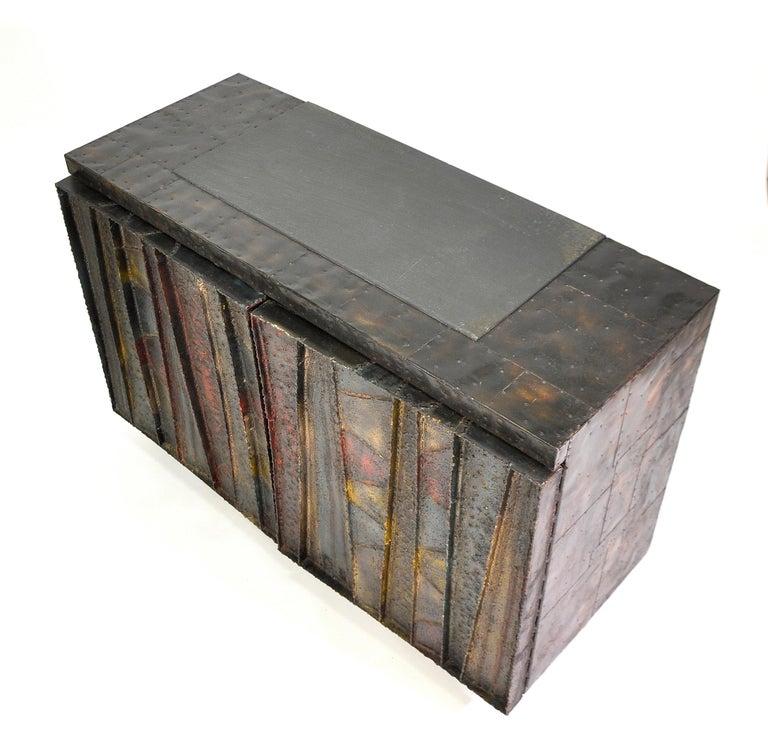 Paul Evans Deep Relief Cabinet For Sale 9