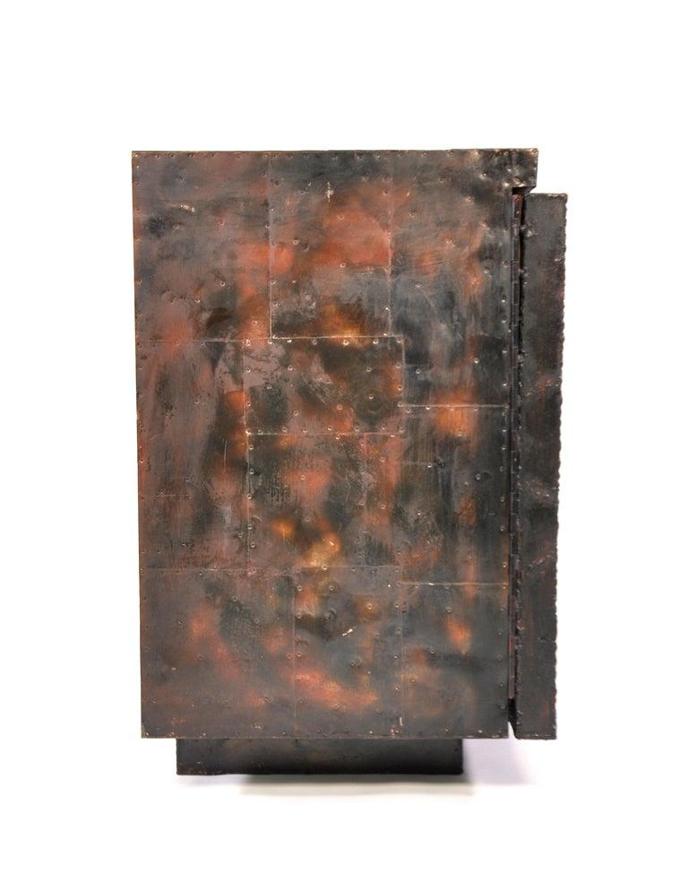 Paul Evans Deep Relief Cabinet For Sale 11