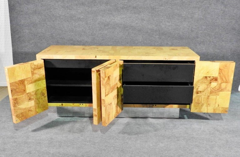 Mid-Century Modern Paul Evans Floating Cabinet For Sale