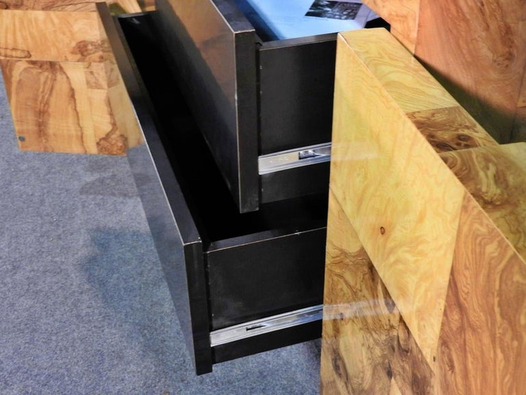 Paul Evans Floating Cabinet In Good Condition For Sale In Brooklyn, NY