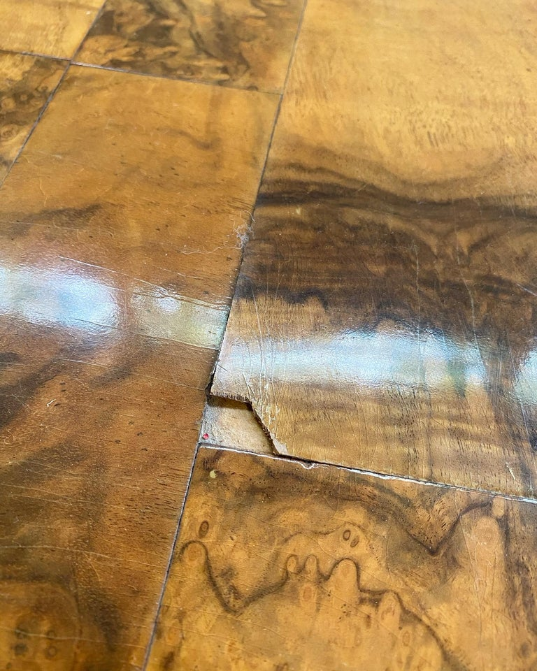 Paul Evans for Directional Cityscape Patchwork Burl Wood Dining Table 5