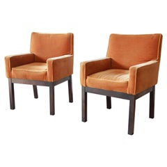 Paul Evans for Directional Parsons Armchairs, Pair