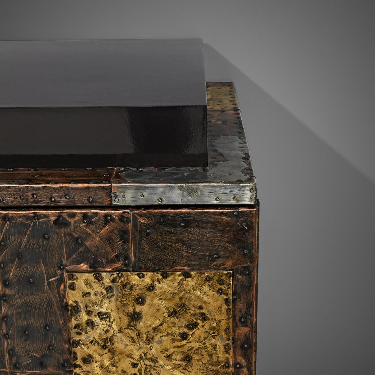 Paul Evans for Directional 'Patchwork' Sideboard For Sale 3