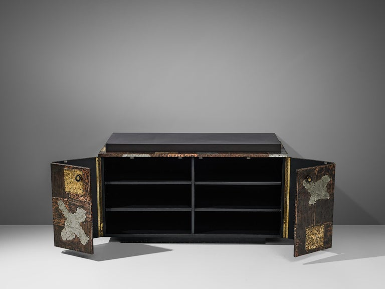 Paul Evans for Directional 'Patchwork' Sideboard For Sale 1