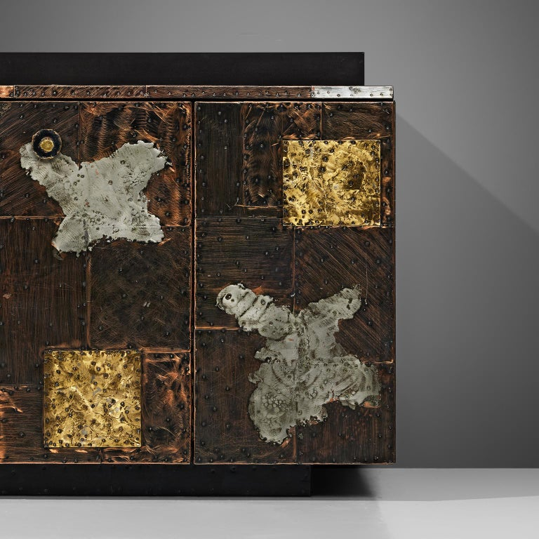 Paul Evans for Directional 'Patchwork' Sideboard For Sale 2